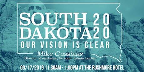 AAF Black Hills September Luncheon: South Dakota Tourism 2020 tickets