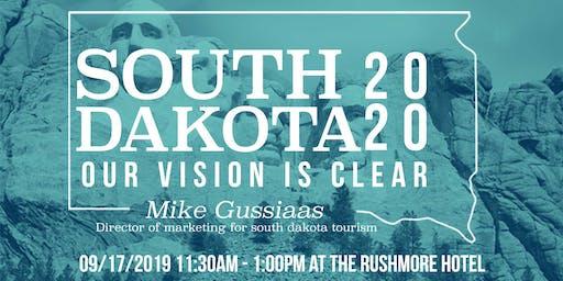 AAF Black Hills September Luncheon: South Dakota Tourism 2020