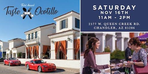 3rd Annual Taste of Ocotillo