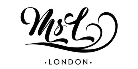MSL London's Launch and Pop up Shop tickets