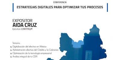 Conferencia: Estrategias digitales para optimizar tus procesos