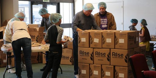 Rise Against Hunger cleanup @ LDS