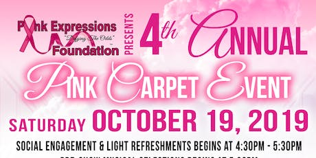"""Hatz Off To Cancer Survivors"" 4th Annual Pink Carpet Event tickets"