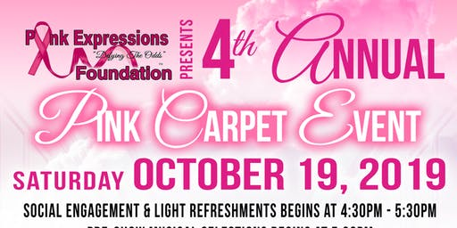 """Hatz Off To Cancer Survivors"" 4th Annual Pink Carpet Event"