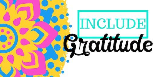 Include Gratitude