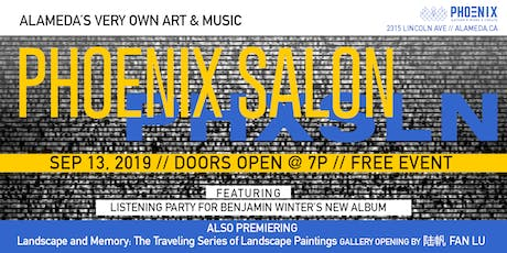 PHOENIX Salon: WolfHunt Album Release & New Gallery By 陆帆 Fan Lu tickets