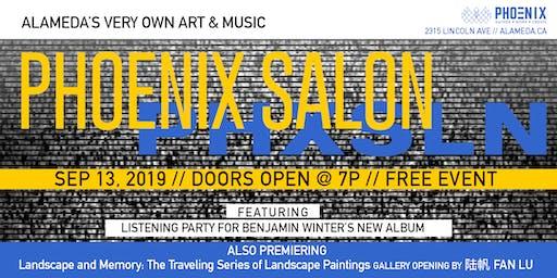 PHOENIX Salon: WolfHunt Album Release & New Gallery By 陆帆 Fan Lu