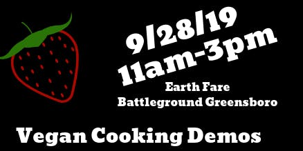 Healthy Heart Day (Vegan Cooking Demos & Education)