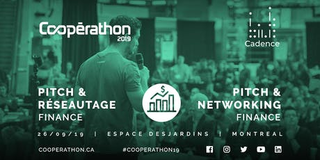 Pitch & Réseautage/Pitch & networking - MTL - Finance tickets