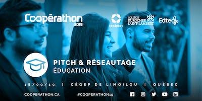 Pitch & Réseautage - QC - Éducation