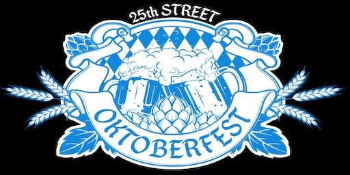 25th Street Oktoberfest - Freund von mir