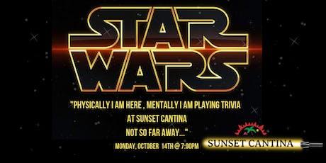 Star Wars Trivia at Sunset Cantina tickets