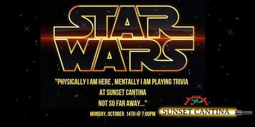 Star Wars Trivia at Sunset Cantina