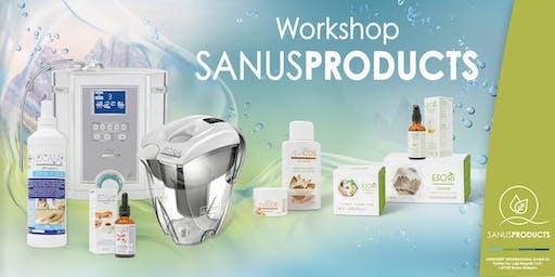 Sanuslife Workshop Ionizer Handhabung und Anwendung des Wassers
