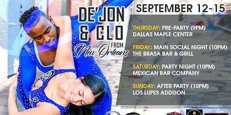 De'Jon & Clo in Dallas tickets
