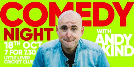 A Night Of Comedy With Andy Kind tickets