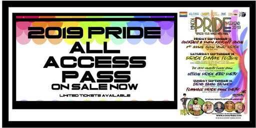 2019 PRIDE All Access Pass