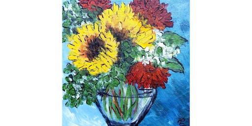 10/25 - Sunflowers & Dahlias @ Ambassador Winery, Woodinville