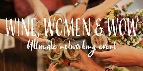 Wine, Women & WOW tickets