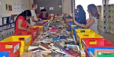 CIC Incarceration Ministry - book drive and book sorting @ LDS tickets
