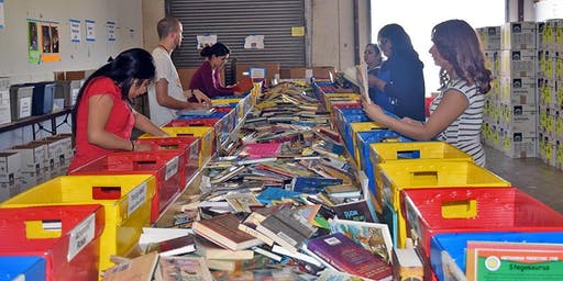 CIC Incarceration Ministry - book drive and book sorting @ LDS