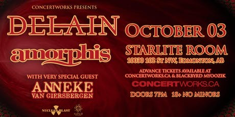 Delain, Amorphis tickets