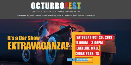 Octurbofest Classic & Custom Car Show Extravaganza - Vehicle Registration tickets