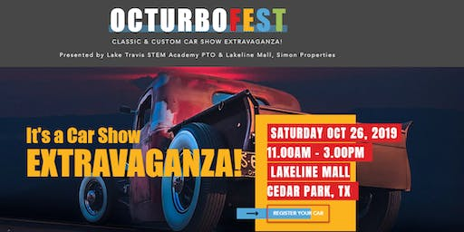 Octurbofest Classic & Custom Car Show Extravaganza - Vehicle Registration