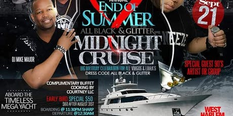 I Love The 90's Annual End of the Summer Cruise  tickets
