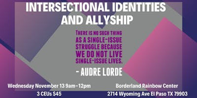 Intersectional Identities and Allyship