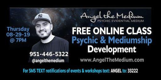 FREE Online Psychic & Mediumship Development Circle on Zoom Thursday 08-29
