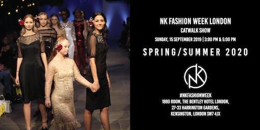 NK Fashion Week London SS20 during London Fashion Week