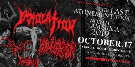 IMMOLATION with BLOOD INCANTATION, BEGRIME & IDOLATRY tickets