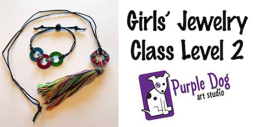 Girls' Jewelry Making Class Level 2