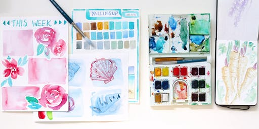 Travel Journalling with Watercolours - Adult Workshop