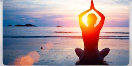 Beach Yoga Evening + Dinner  tickets
