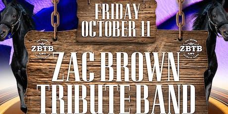 Zac Brown Tribute Rocks Napper Tandy's tickets