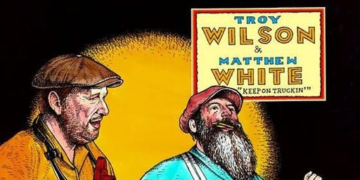 In the front bar: Wilson & White