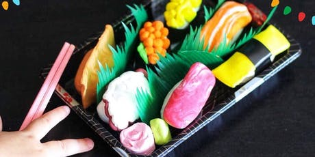 DIY Clay Sushi tickets