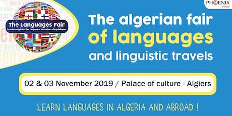 The Languages Fair : Le salon algérien des langues et des séjours linguistiques billets