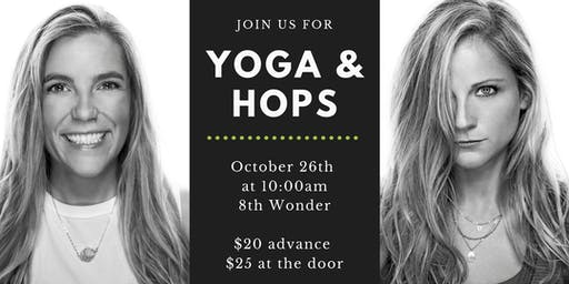 Yoga&Hops at 8th Wonder