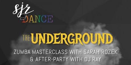 SJR DANCE Underground Zumba Masterclass & After-Party tickets