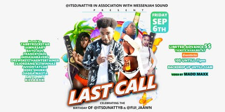 DJ NATTYB & FIJI JAAWN BIRTHDAY BASH (LAST CALL) tickets