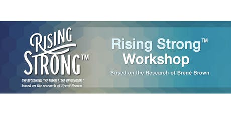 RISING STRONG  Workshop tickets