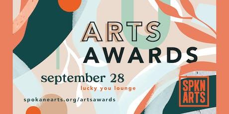 Spokane Arts Awards tickets