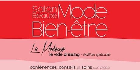 INSCRIPTIONS:  Le salon Mode beauté bien-être au profit de LEUCAN billets