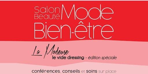 INSCRIPTIONS:  Le salon Mode beauté bien-être au profit de LEUCAN