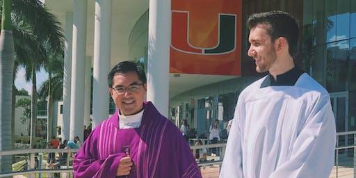 UCatholic Family Mass & Reception