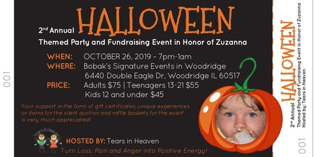 2nd Halloween Themed Fundraising Event tickets
