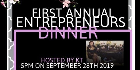 KT 1st Annual Entrepreneurs Dinner tickets